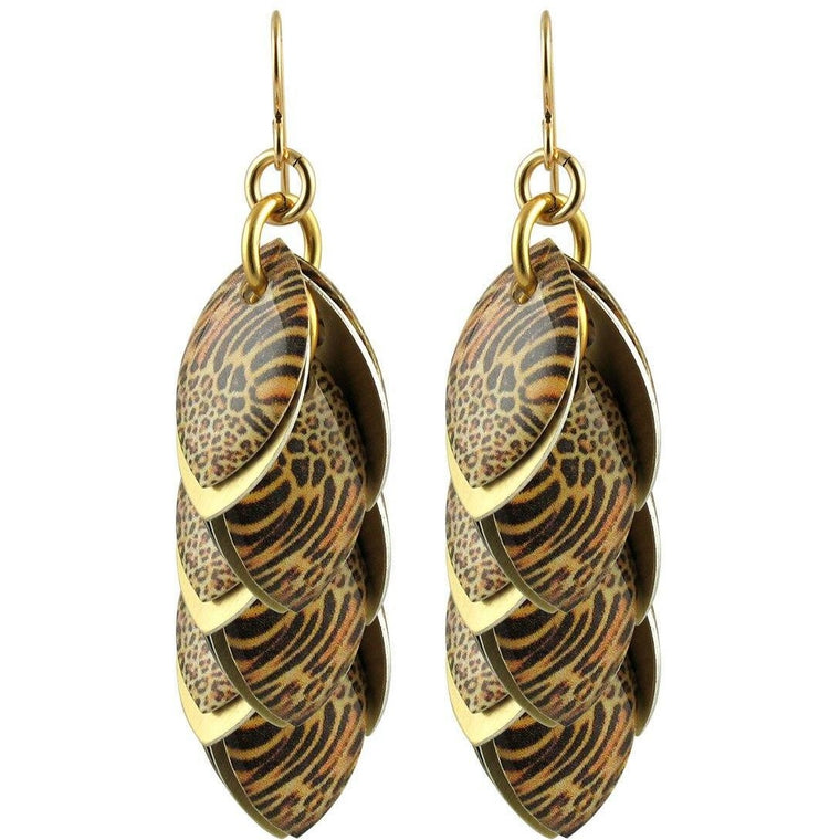 Every Girl Needs a Jaguar Artful Statement Earrings - 3 Lengths - $95 to $225
