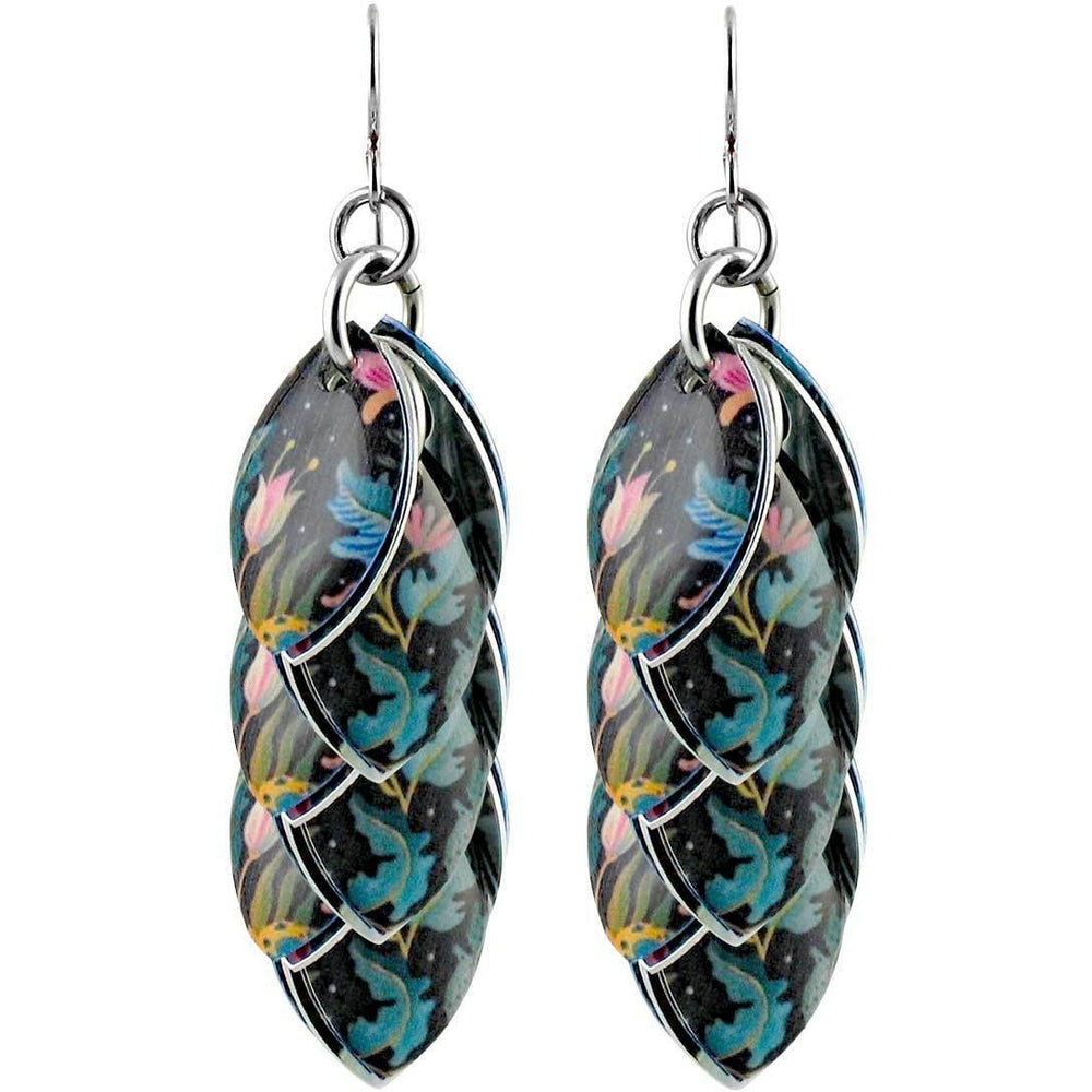 Tropical Nights Artful Statement Earrings - 3 Lengths - $95 to $225