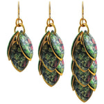 Ready Set Action Art Earrings - 3 Lengths - $95 to $225