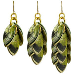 Jalousele Mixed Media Earrings - 3 Lengths - $95 to $225