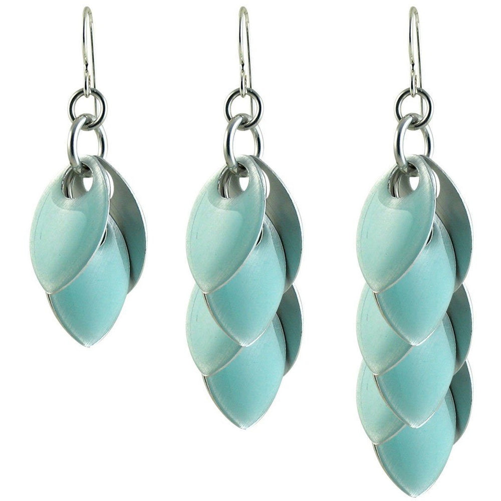 Turquoise Fondant Wire Back Earrings - Diana Ferguson Jewelry