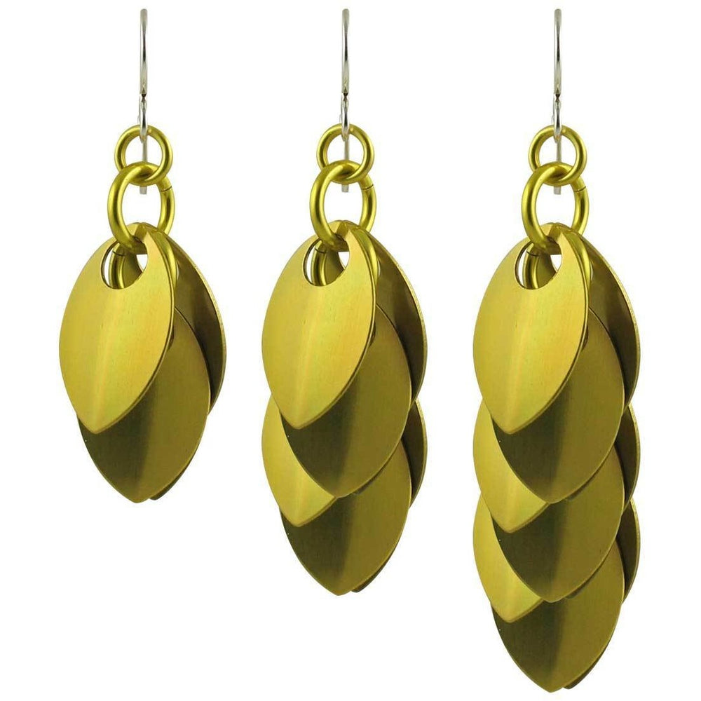 Yellow Dangle Earrings - Diana Ferguson Jewelry