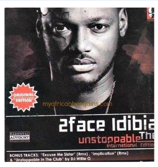 2Face Idibia - Unstoppable - CD - African Music Buy
