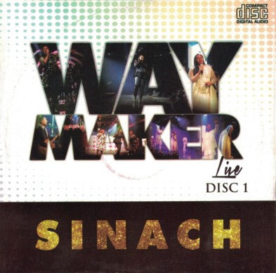 Sinach - Way Maker Live 1 - Audio CD