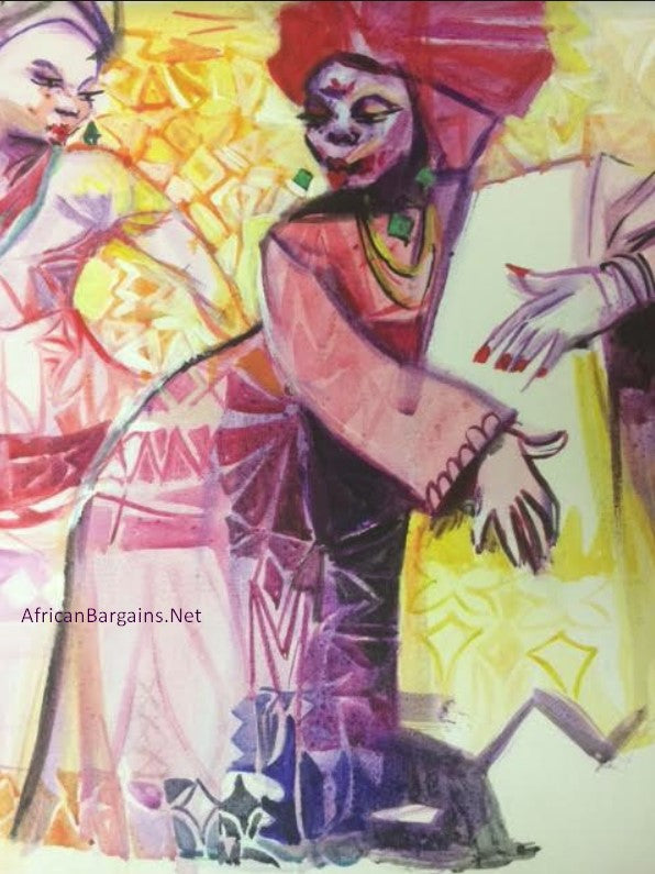 African Painting, African Art 01200