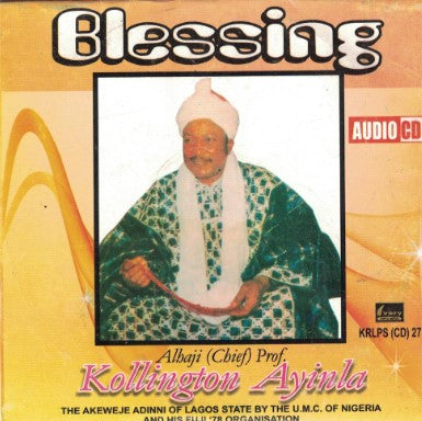 Kollington Ayinla - Blessing - CD