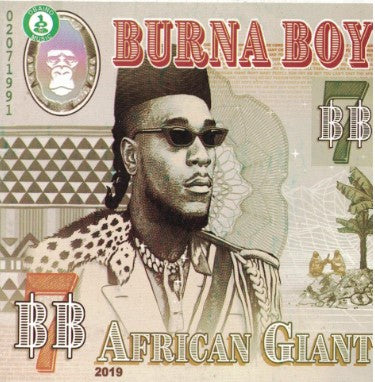 Burna Boy - African Giant - CD