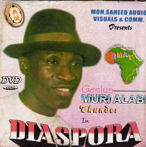 Muri Alabi Thunder - Diaspora - Video CD