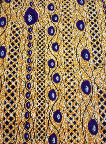 African Fabric, African Wrapper, African Print Fabric 001
