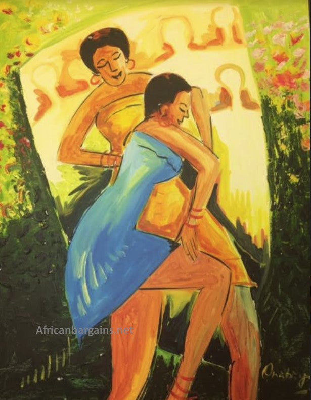 African Painting, African Art 02051