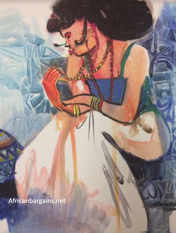 African Painting, African Art 02043