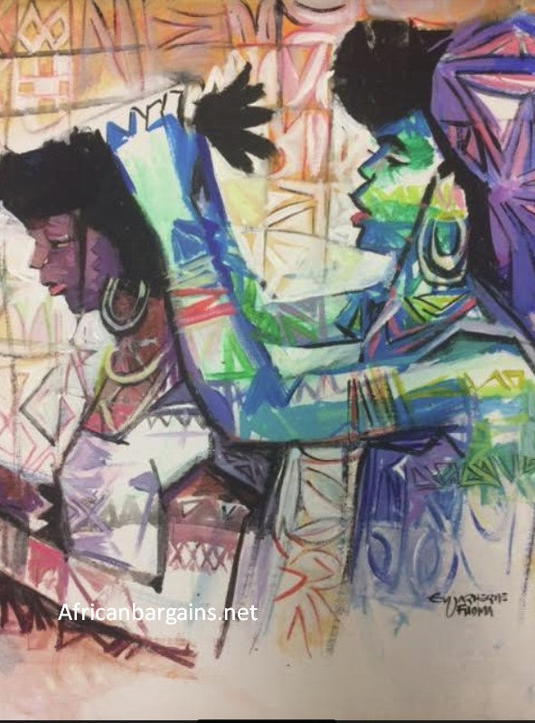African Painting, African Art 01199