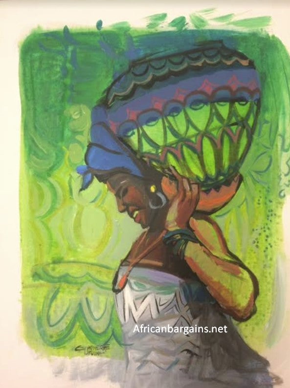 African Painting, African Art 02037