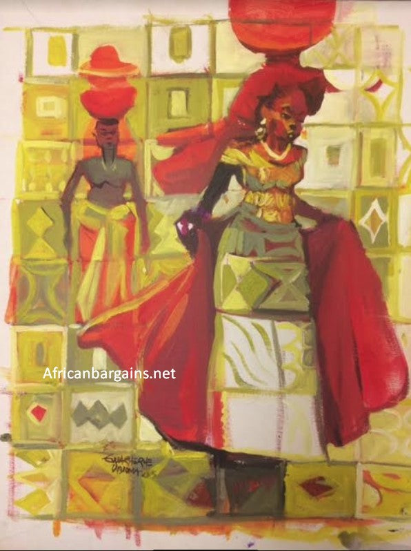 African Painting, African Art 02032