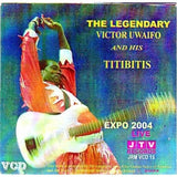 Victor Uwaifo - Expo 2004 - Video CD - African Music Buy