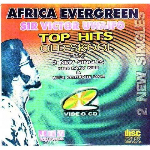 African Banner - Victor Uwaifo - Vintage Old Hits - Video CD