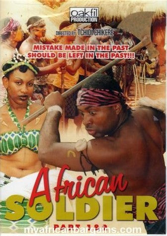 African Soldier 1&2 - African Movie - Dvd