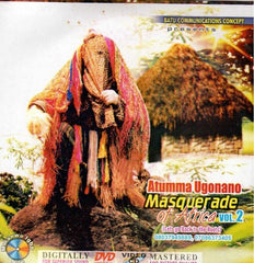 Atumma Ugonano Masquerade Vol 1 - Video CD - African Music Buy