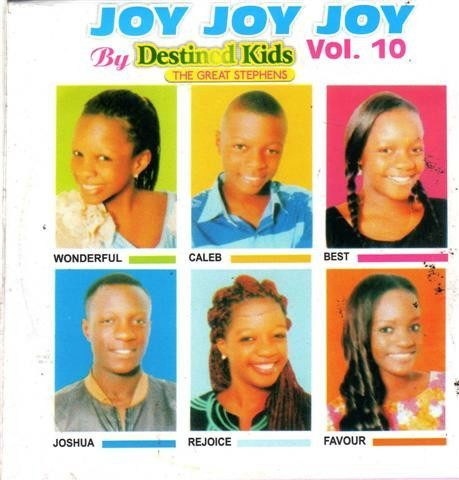 Destined Kids - Joy Joy Joy Vol 10 - Video CD