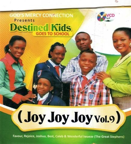 Destined Kids - Joy Joy Joy Vol 9 - Video CD