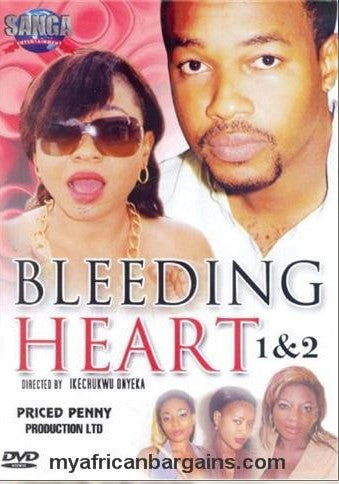 Bleeding Heart 1&2 - African Movie - Dvd