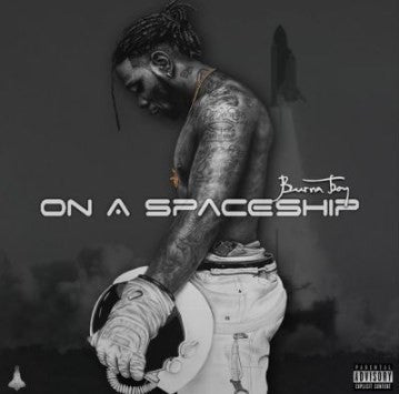 Burna Boy - On A Spaceship - CD