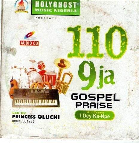 110 9ja Gospel Praise - Audio CD