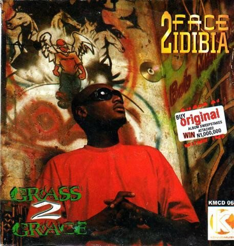 CD - 2Face Idibia- Grass 2 Grace - CD