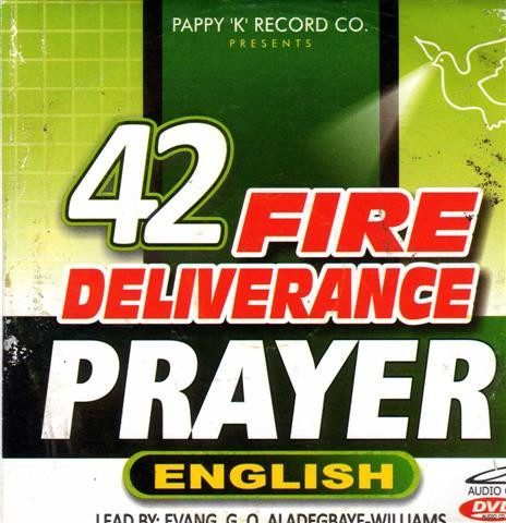 42 Fire Deliverance Prayer English - Audio CD