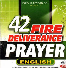 42 Fire Deliverance Prayer English - Audio CD - African Music Buy