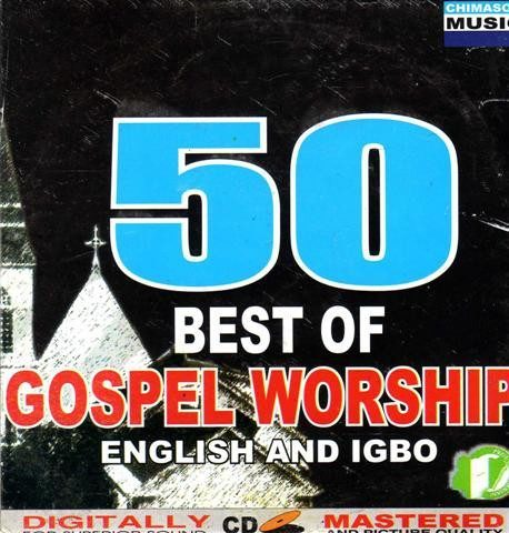CD - 50 Best Of Gospel Worship - Audio CD