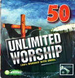 CD - 50 Unlimited Worship - Audio CD