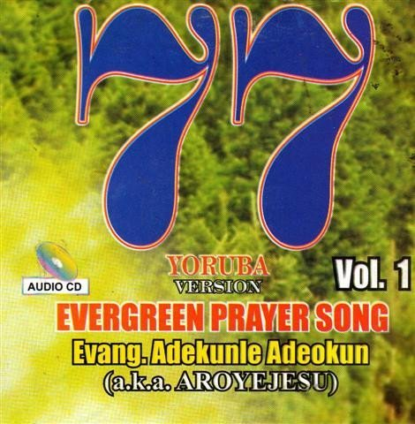 77 Evergreen Songs Yoruba Version 1 - CD