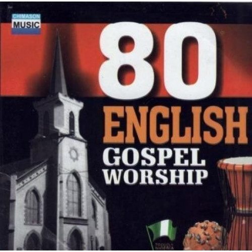 CD - 80 English Gospel Worship - CD