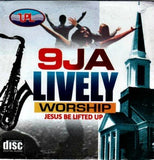 9JA Lively Worship - Audio CD - African Music Buy
