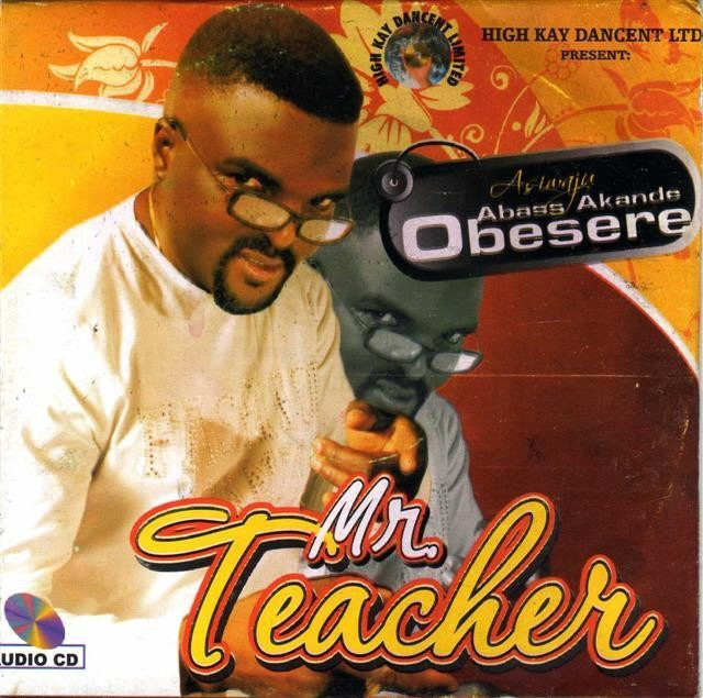 Abass Obesere - Mr Teacher - Audio CD