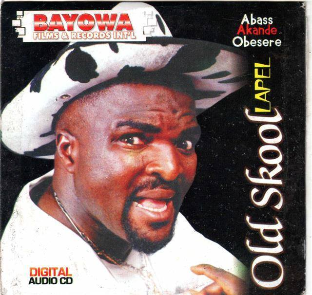 CD - Abass Obesere - Old Skool Lapel - CD