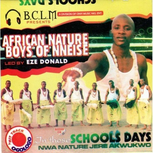 CD - African Nature Boys Of Nneise - CD