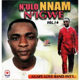 CD - Agape Band N Ulo Nnam N Igwe Vol 14 - CD