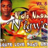 CD - Agape Band - N'ulo Nnam N'igwe Vol 8 - CD