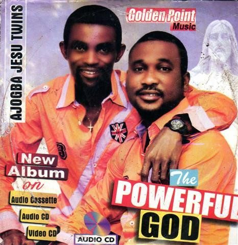 Ajogba Jesu Twins - The Powerful God - CD