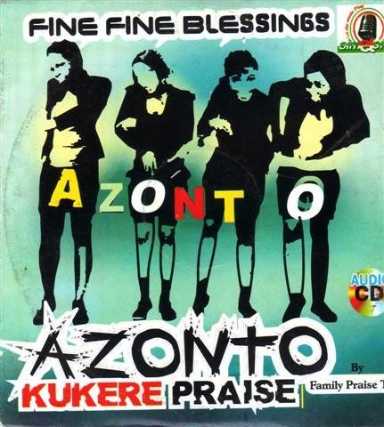 Azonto Kukuere Praise - Audio CD