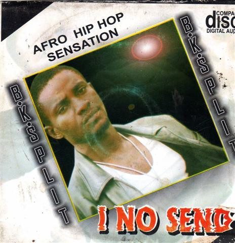 B K Split - I No Send - Audio CD