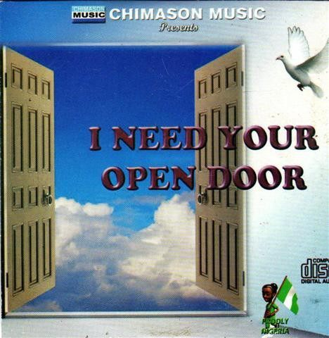 Chimason Music - I Need Your Open Door - CD