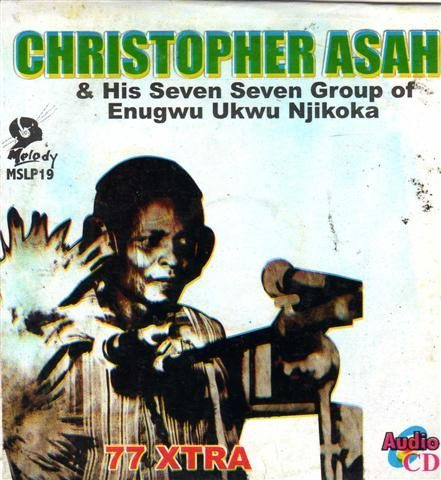 Christopher Asah - 77 Xtra - CD