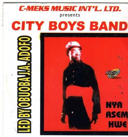 City Boys Band - Nya Asem Hwe - CD