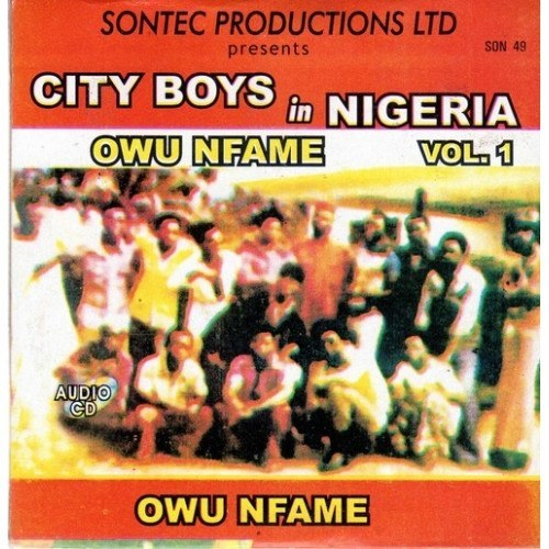 City Boys Band - Owu Nfame - CD