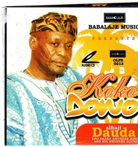 CD - Dauda Akanmu - Koko Dowo - Audio CD