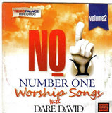 CD - David Dare - Number One Worship Songs Vol 2 - CD