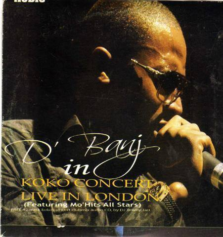 Dbanj - Koko Concert Live In London - CD